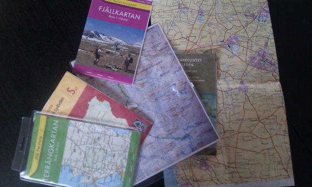 Läsa karta och använda kompass