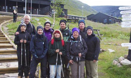 Toppbestigning av Kebnekaise till minne av Lars Olof