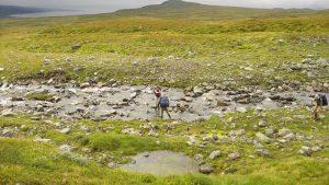 Vandra i Sarek - nationalparker