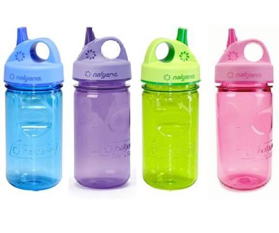 Test av vattenflaskor för barn