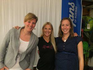 Jenny Larsson, Anneli Pompe och Emma Ising