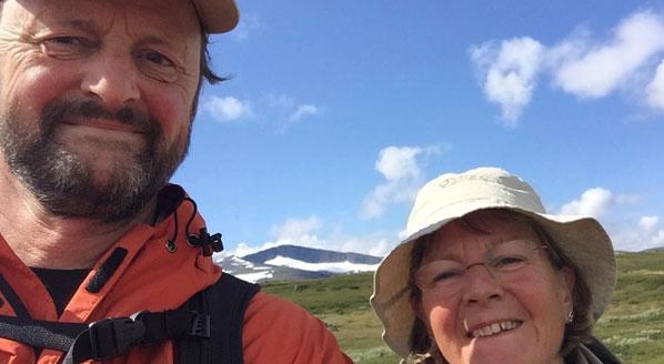 Vandringsprofil: Swante och Lena Friberg