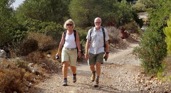 Vandringssäsongen är i full gång på Kreta