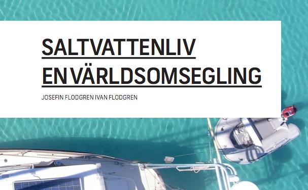 Julklappbok! Saltvattenliv – en världsomsegling!