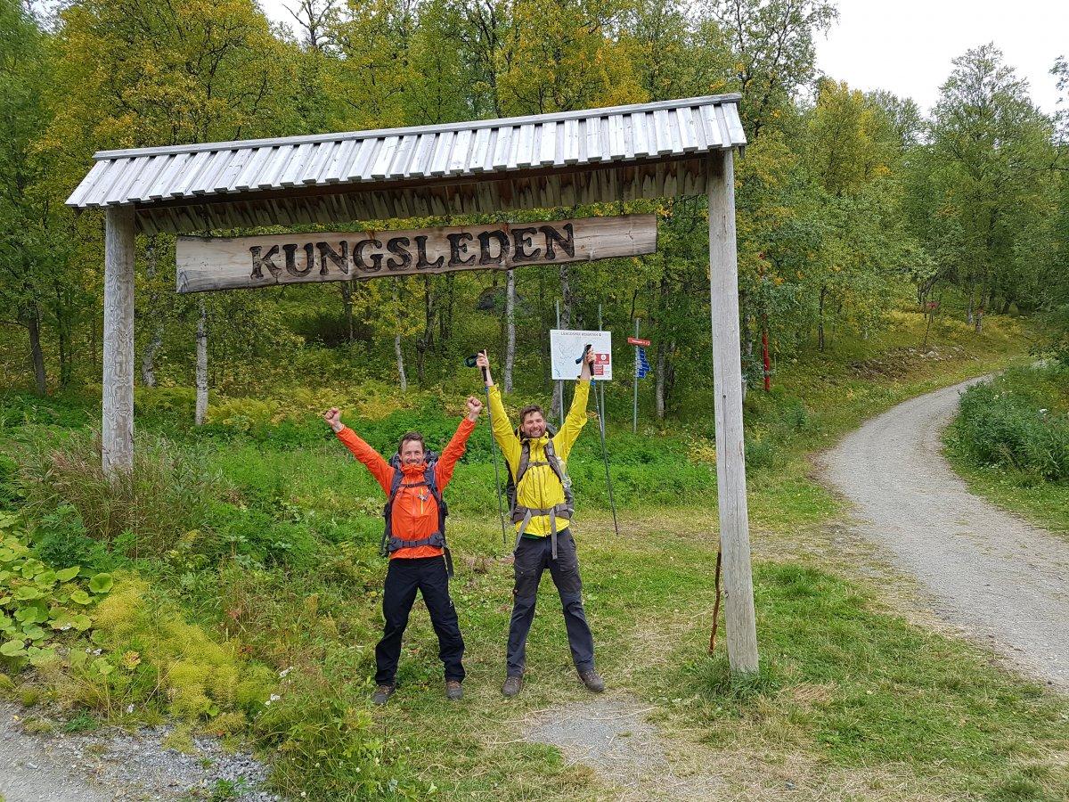 Projekt Kungsleden - dag 14, 8 september.