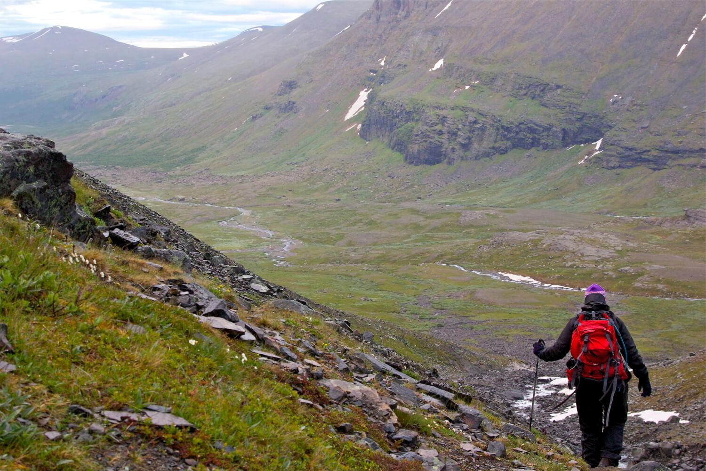 Bestiga Kebnekaise Sveriges högst berg Vandringsguiden.se