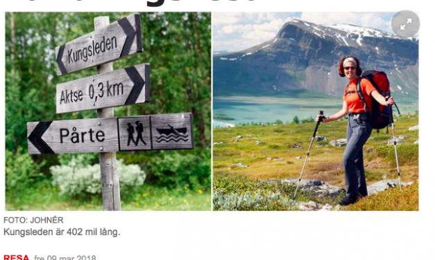 Vandringsguiden en av tre vandringsexperter i Aftonbladet
