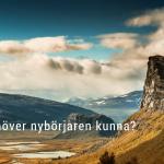 Fjällvandring – vad undrar nybörjaren?