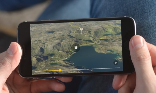 Relive – skapa 3D video över vandring