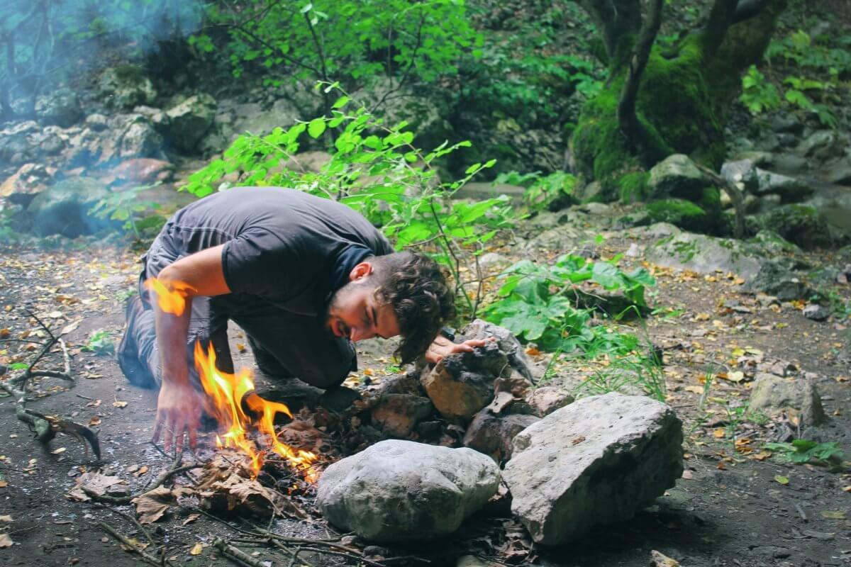 Göra upp eld