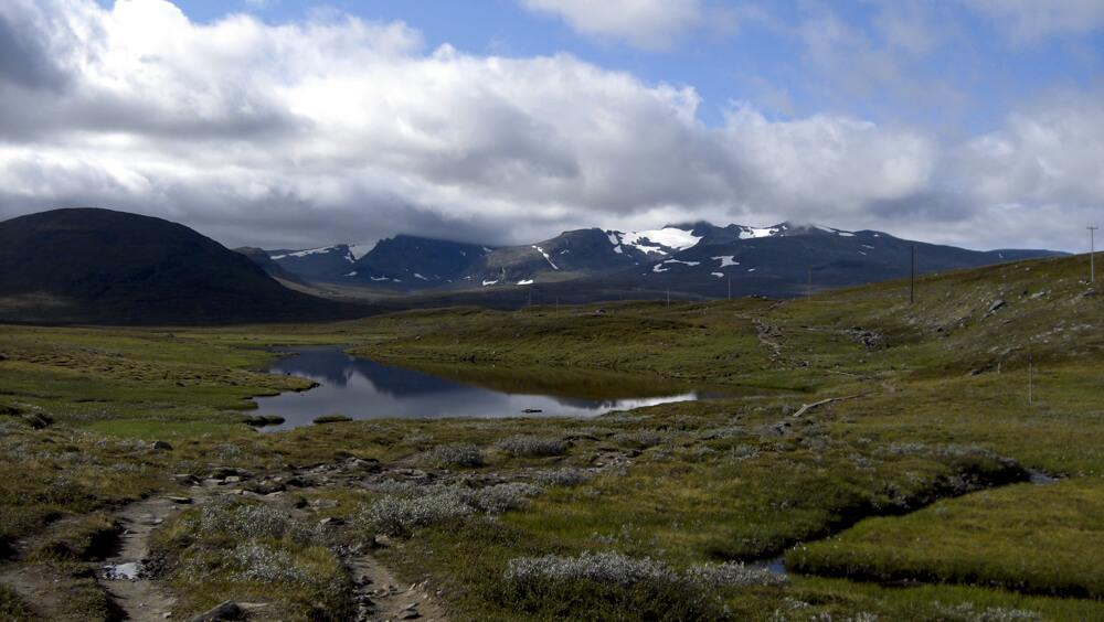 Berg vid jämtlandstriangeln