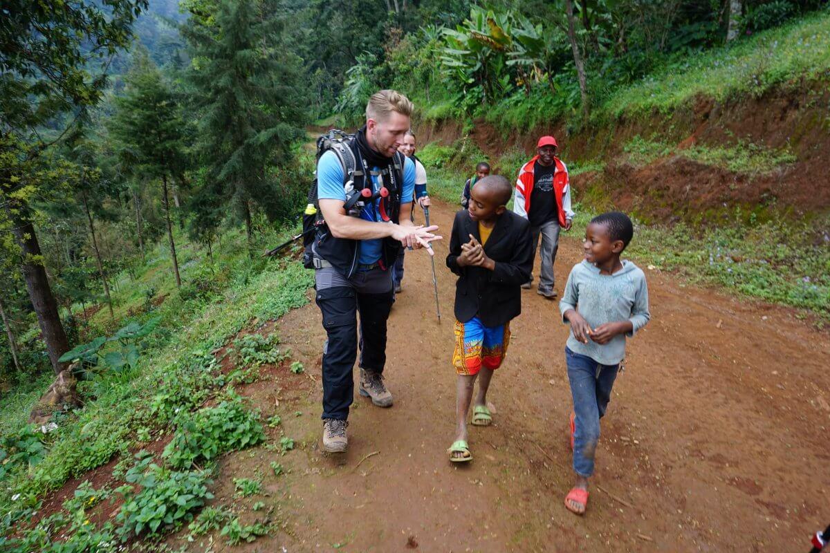 träning inför kilimanjaro