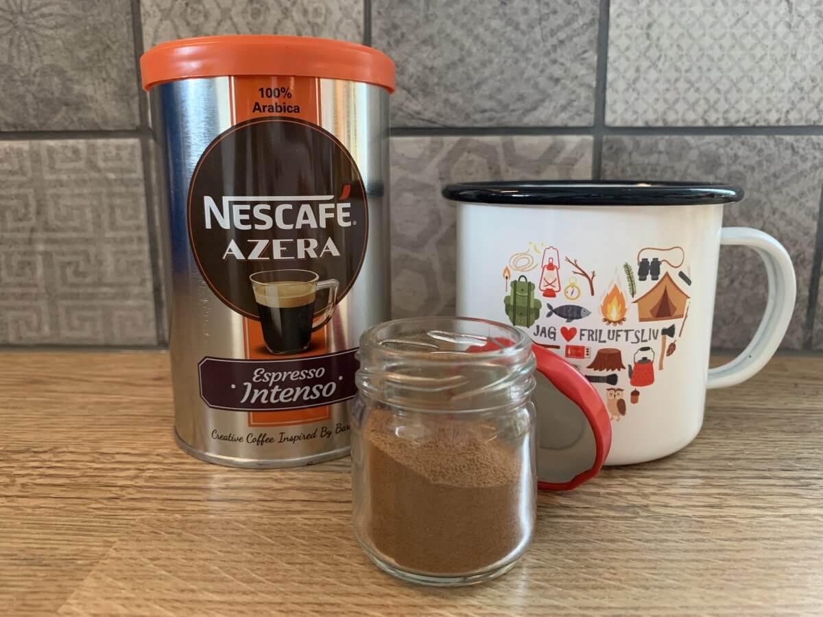 kaffe på vandringen