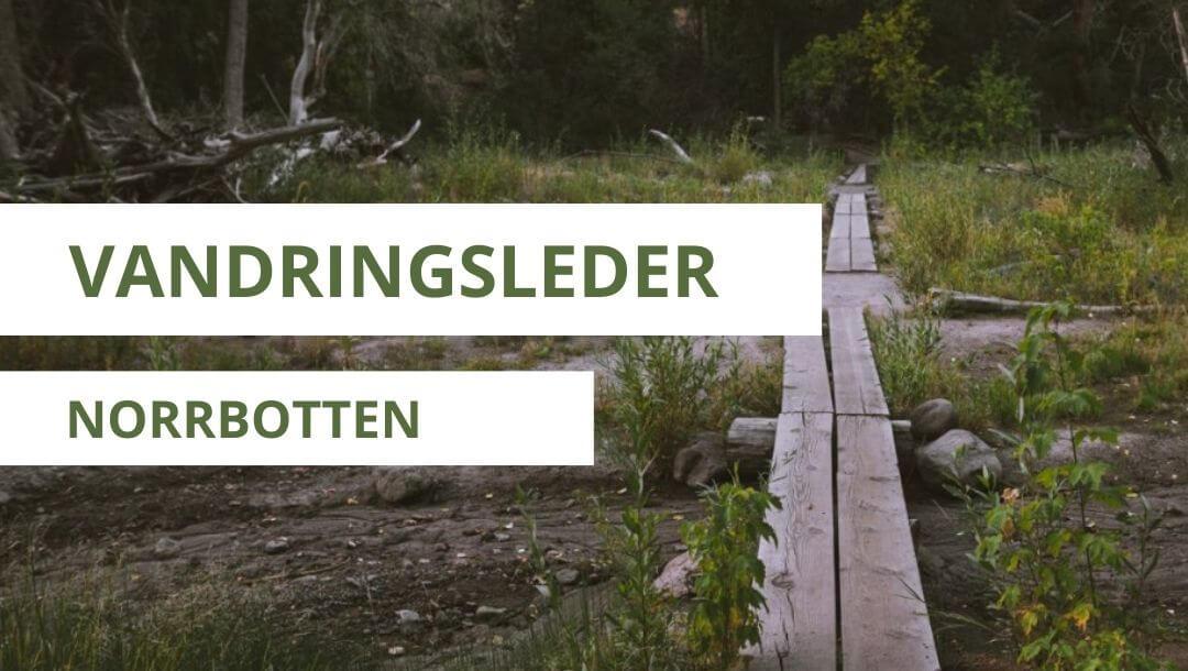 vandringsleder i norrbotten