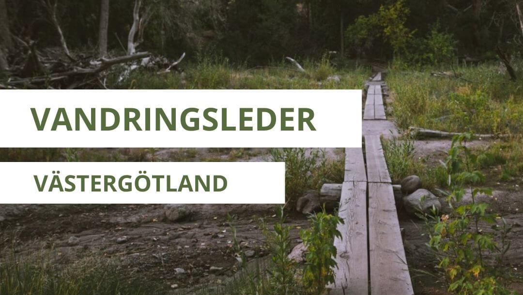 vandringsleder i västergötland