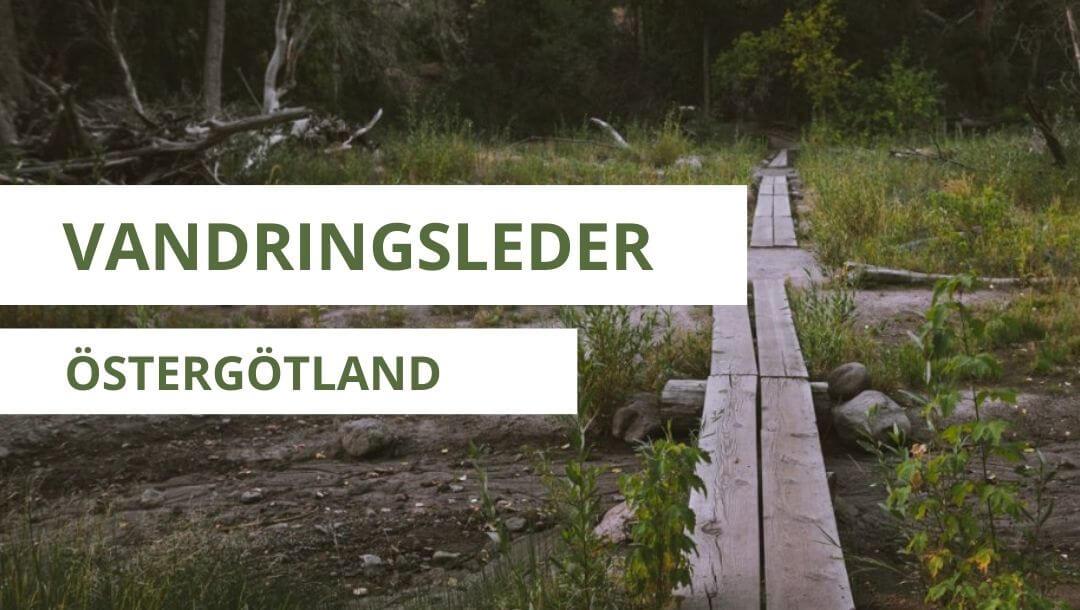 vandringsleder i östergötland