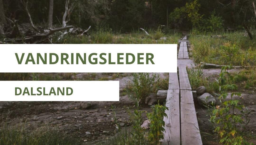 vandringsleder i Dalsland