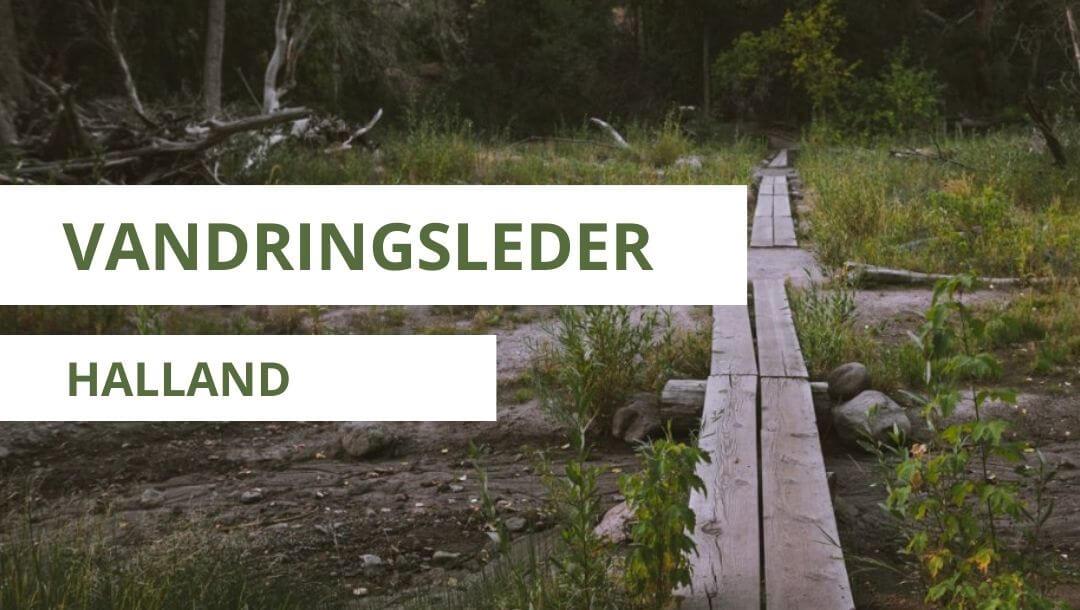 vandringsleder i Halland